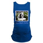 Bearded Collie (Painting) Maternity Tank Top