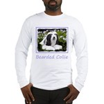 Bearded Collie (Painting) Long Sleeve T-Shirt