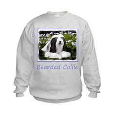 Bearded Collie (Painting) Sweatshirt