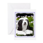 Bearded Collie (Painting Greeting Cards (Pk of 10)