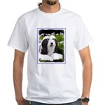 Bearded Collie (Painting) White T-Shirt