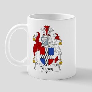 Berney Family Crest Mug