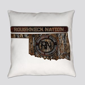 Oklahoma Camo Everyday Pillow