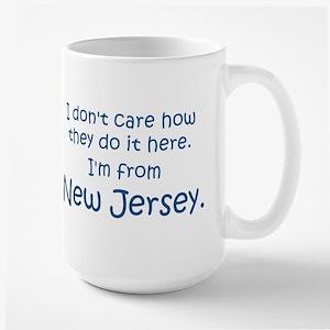 New Jersey Large Mug