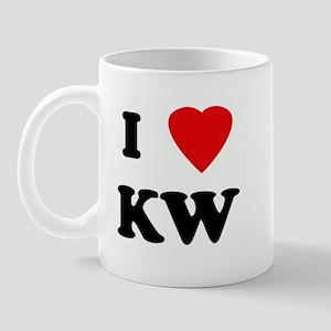 I Love KW Mug