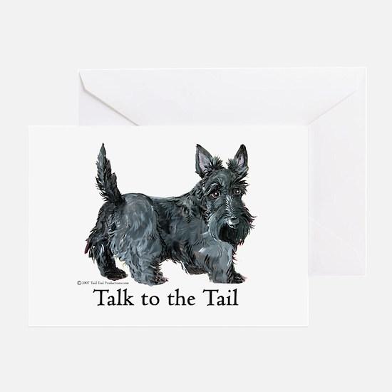 Scottish Terrier Attitude Greeting Card