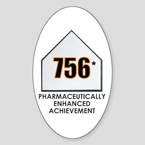 756 - Achievement? Oval Sticker