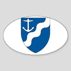 Aarhus Oval Sticker