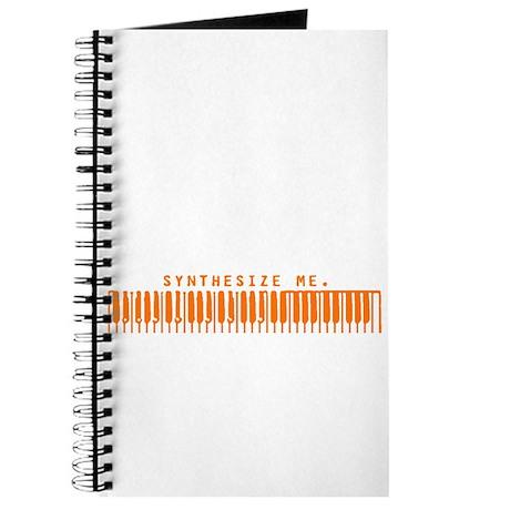 Synthesize Me (Orange) Journal