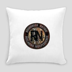 Roughneck Logo Everyday Pillow
