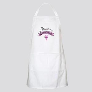 Proud Mom Of Daughter Apron