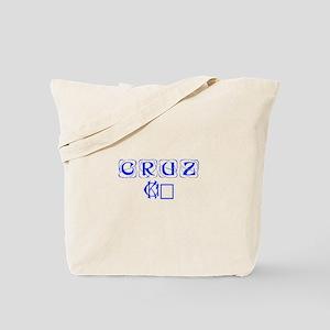 Cruz 16-Kon blue 460 Tote Bag