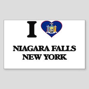 I love Niagara Falls New York Sticker