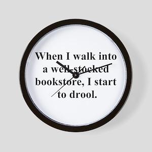 Drool Wall Clock