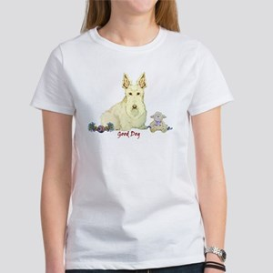 """Good Dog"" Wheaten Scottie Women's T-Shirt"
