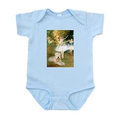Dancer1/Wheaten T Infant Bodysuit