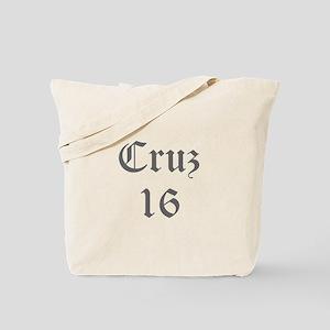 Cruz 16-Old gray 400 Tote Bag