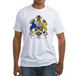 Bee Family Crest  Fitted T-Shirt