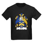 Bee Family Crest  Kids Dark T-Shirt