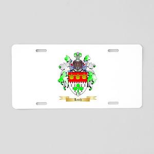 Leech Aluminum License Plate
