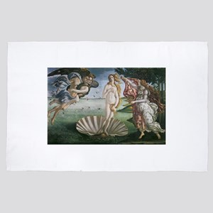 The Birth of Venus 4' x 6' Rug