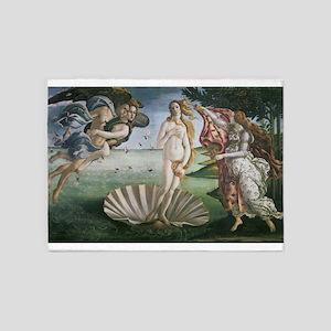 The Birth of Venus 5'x7'Area Rug