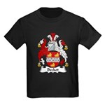 Becket Family Crest Kids Dark T-Shirt