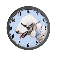 Bedlington Terrier Wall Clock