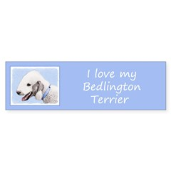 Bedlington Terrier Sticker (Bumper)