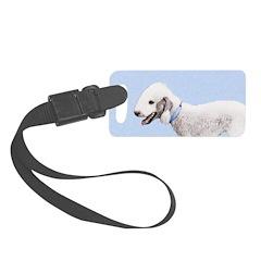 Bedlington Terrier Luggage Tag