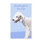 Bedlington Terrier Sticker (Rectangle 50 pk)