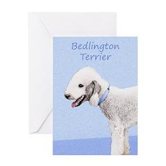 Bedlington Terrier Greeting Card