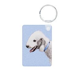Bedlington Terrier Keychains
