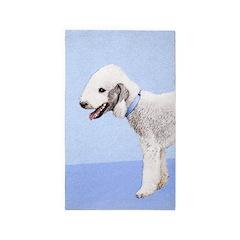 Bedlington Terrier Area Rug