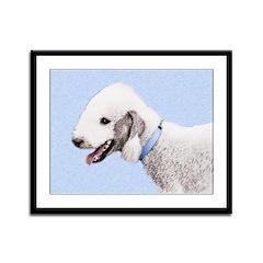 Bedlington Terrier Framed Panel Print