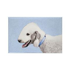 Bedlington Terrier Rectangle Magnet (100 pack)