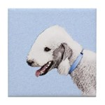 Bedlington Terrier Tile Coaster