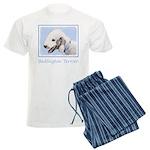 Bedlington Terrier Men's Light Pajamas