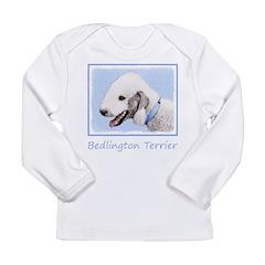 Bedlington Terrier Long Sleeve Infant T-Shirt