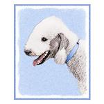 Bedlington Terrier Small Poster