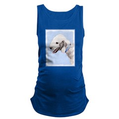 Bedlington Terrier Maternity Tank Top