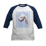 Bedlington Terrier Kids Baseball Tee