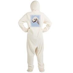 Bedlington Terrier Footed Pajamas