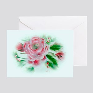 Christmas Camellia Greeting Cards (Pk of 20)
