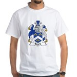 Beard Family Crest White T-Shirt