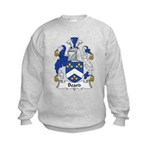 Beard Family Crest Kids Sweatshirt