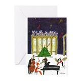 Jazz Greeting Cards (20 Pack)