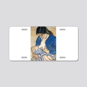 Motherhood Aluminum License Plate