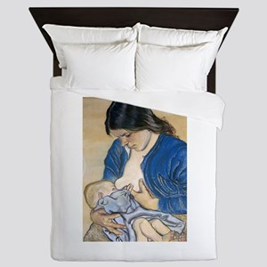 Motherhood Queen Duvet