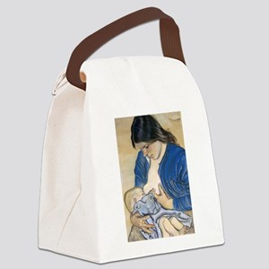 Motherhood Canvas Lunch Bag